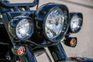 Harley-Davidson Softail Deluxe Chicano Style Lampe