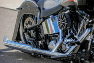 Harley-Davidson Softail Deluxe Chicano Style Exhaust