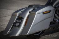 Harley-Davidson Road Glide Touring Kit mit großen Koffern