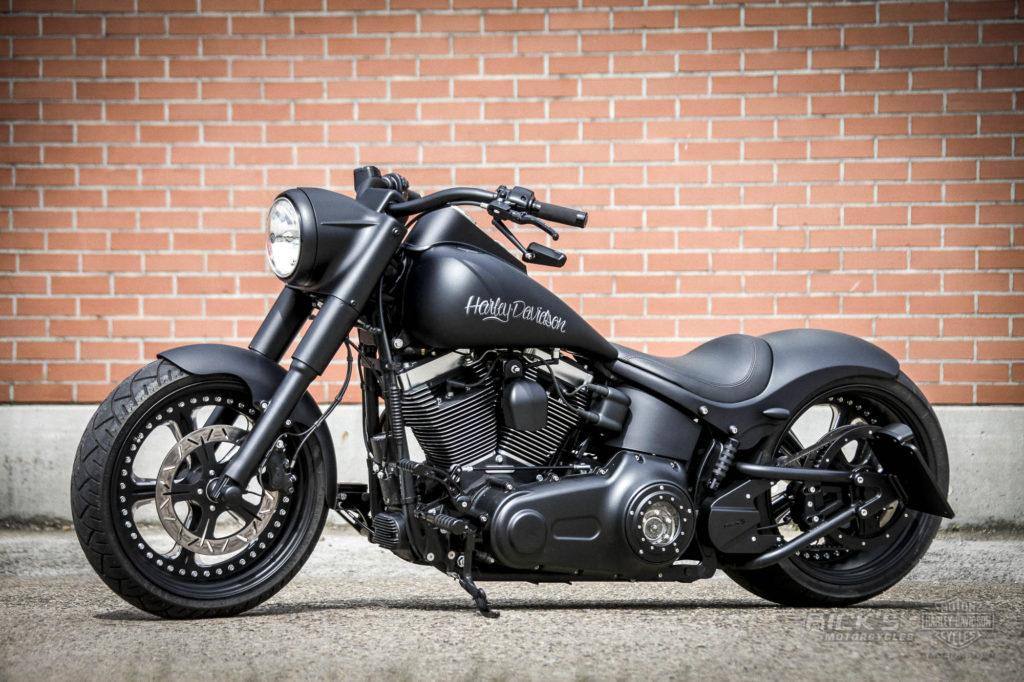 fat boy harley davidson softail motorcycles special custom rick ricks bikes beast beauty milwaukee