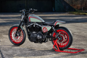 Sportster 883 Iron Custom King 004