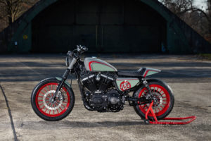 Sportster 883 Iron Custom King 003