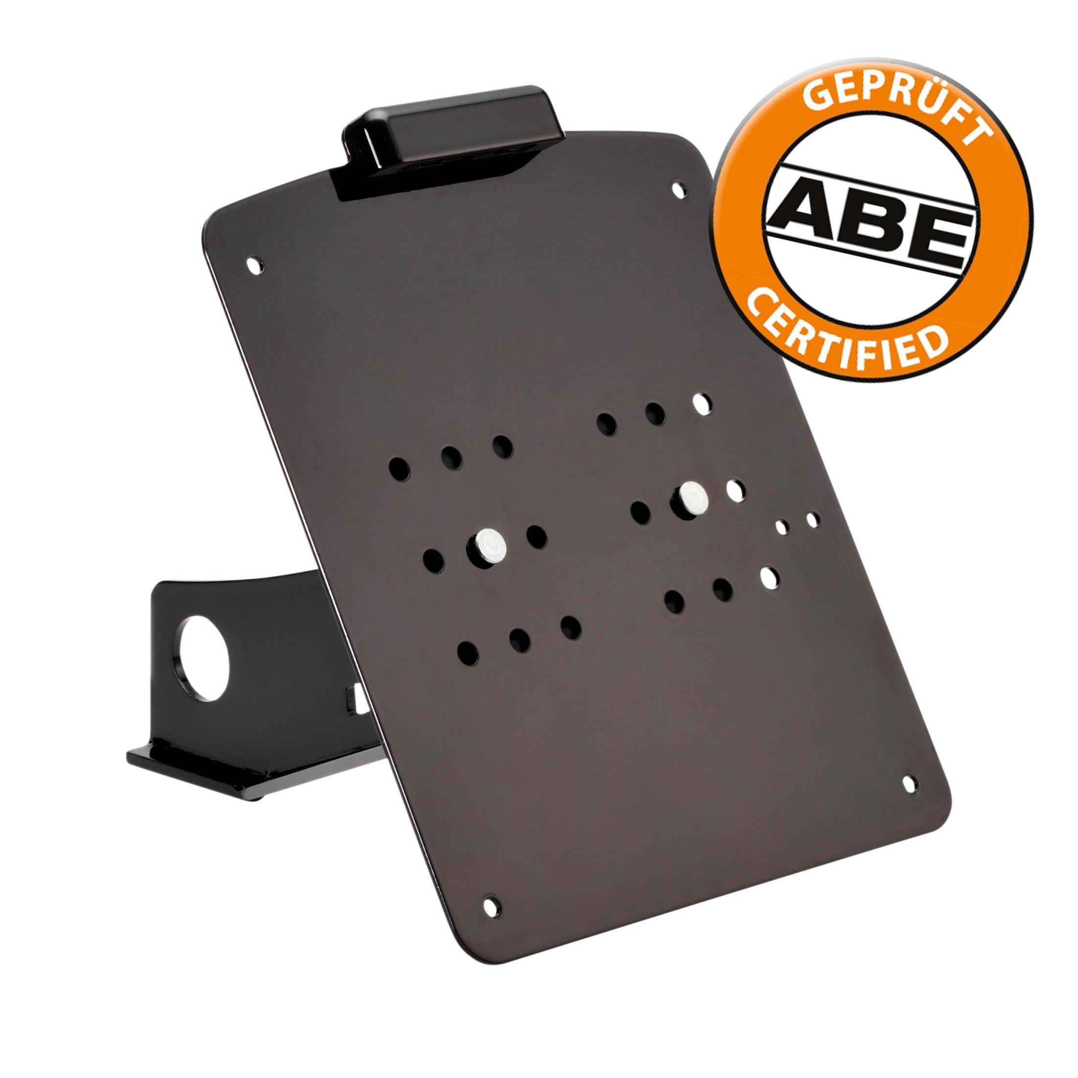 Kennzeichenhalter-Kit lang mit ABE
