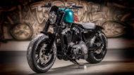 Harley-Davidson Sportster Custom battle of the kings