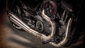 Harley-Davidson Sportster Custom battle of the kings