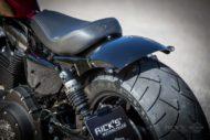 Harley-Davidson Sportster Custom Schutzblech hinten