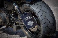 Harley-Davidson Sportster Custom Seitliches Kennzeichen