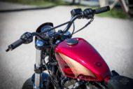 Harley-Davidson Sportster Custom lenker