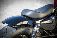 Harley-Davidson Sportster Custom Heckfender Stahl