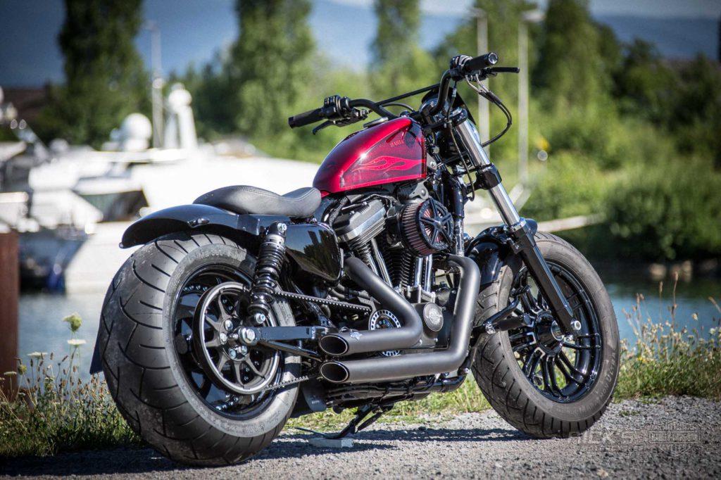 48 Red And Fat Rick S Motorcycles Harley Davidson Baden Baden