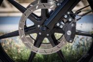 Harley-Davidson Street Glide mit 26 Zoll Vorderrad Bremsscheibe