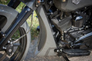 Harley-Davidson Street Glide mit 26 Zoll Vorderrad Bugspoiler