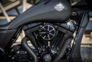 Harley-Davidson Street Glide mit 26 Zoll Vorderrad Motor und Luftfilter