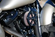Harley-Davidson Custom Fat Boy, Modell 2018 Milwaukee-Eight Luftfilter