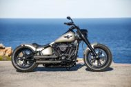 Harley-Davidson Custom Fat Boy, Modell 2018 Milwaukee-Eight