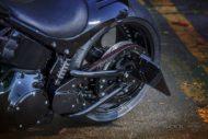 Harley-Davidson Softail Slim S seitliches Kennzeichen