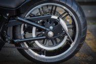 Harley-Davidson Milwaukee-Eight Breakout Model 2018 seilicher Kennzeichen Träger