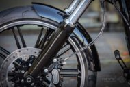 Harley-Davidson Milwaukee-Eight Breakout Model 2018 Vorderrad Schutzblech
