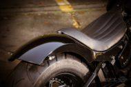 Harley-Davidson Softail Slim Modell 2018 - heckfender