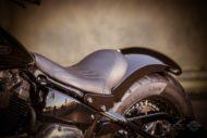Harley-Davidson Softail Slim Modell 2018 - Sitz und Heckfender