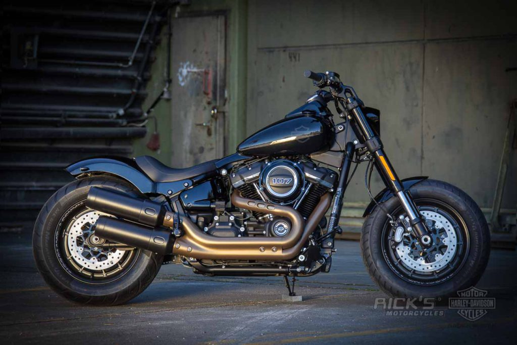Fat Bob with Rick's Fender Kits | Rick`s Motorcycles - Harley