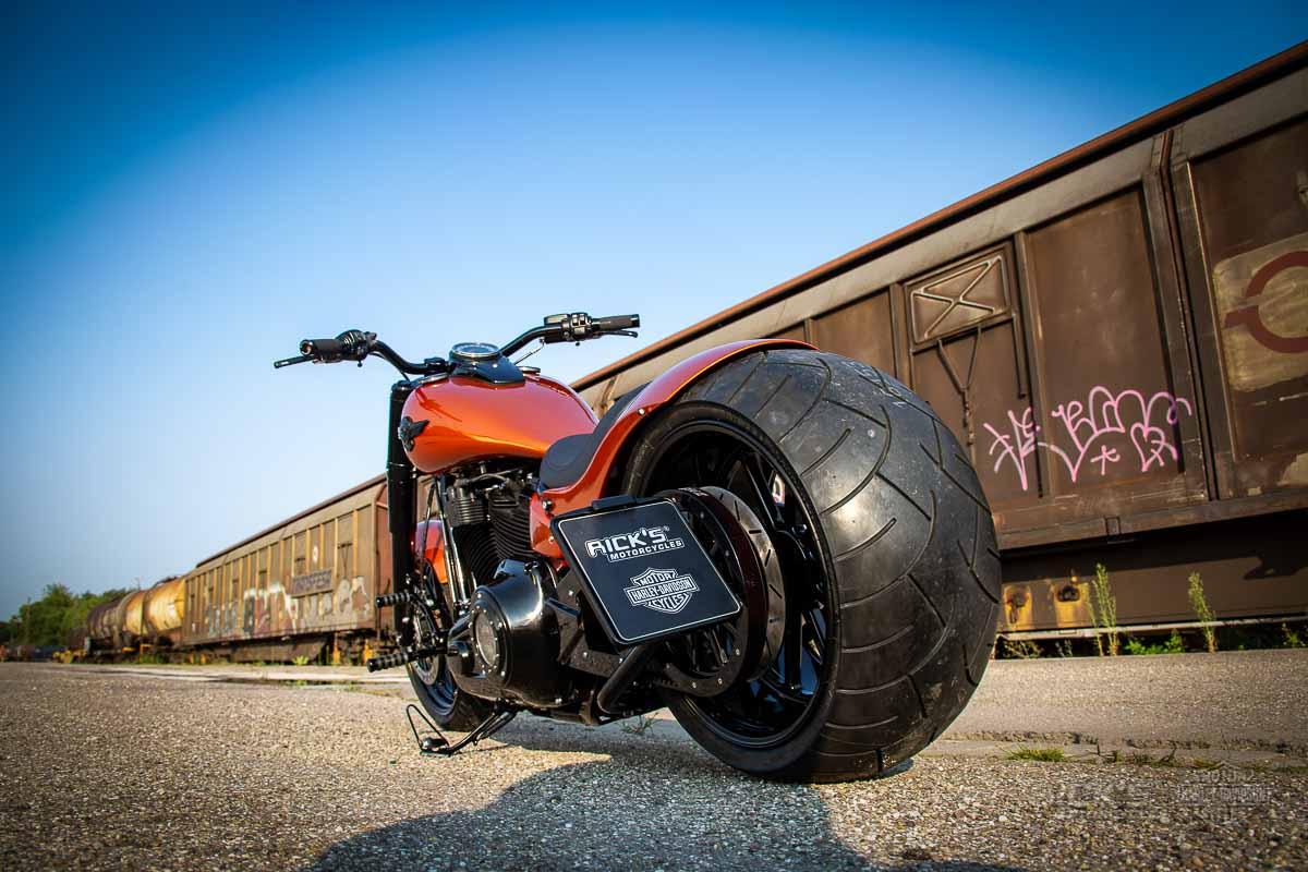 "Harley Milwaukee 8 >> Milwaukee-Eight Softail ""300"" | Rick`s Motorcycles"