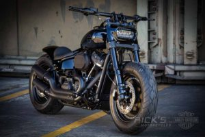 Harley Davidson Fat Bob Milwaukee Eight Custom 003 Kopie