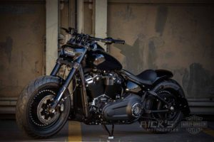 Harley Davidson Fat Bob Milwaukee Eight Custom 044 Kopie