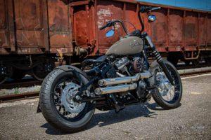 Harley Davidson Street Bob Milw 8 Ricks Bobber022