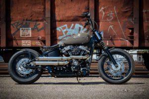 Harley Davidson Street Bob Milw 8 Ricks Bobber085