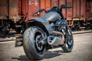 Harley Davidson FXDR grey Custom Ricks 016