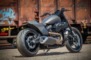 Harley Davidson FXDR grey Custom Ricks 018