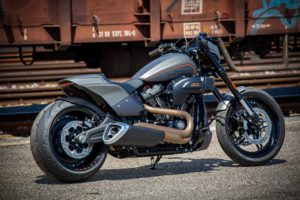 Harley Davidson FXDR grey Custom Ricks 019