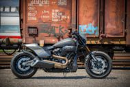 Harley Davidson FXDR grey Custom Ricks 027