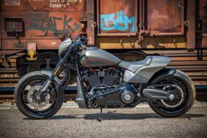Harley Davidson FXDR grey Custom Ricks 029