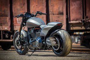 Harley Davidson FXDR grey Custom Ricks 030