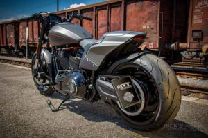 Harley Davidson FXDR grey Custom Ricks 037
