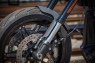Harley Davidson FXDR grey Custom Ricks 045