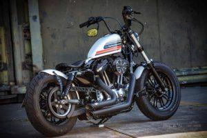 Harley Davidson Sportster Bobber Custom Ricks 120