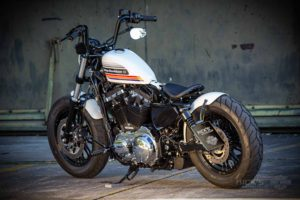 Harley Davidson Sportster Bobber Custom Ricks 134