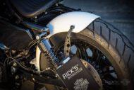 Harley Davidson Sportster Bobber Custom Ricks 145