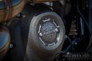 Harley Davidson Street Bob grey Custom Ricks 056