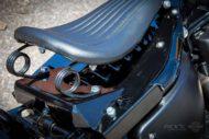 Harley Davidson Street Bob grey Custom Ricks 058