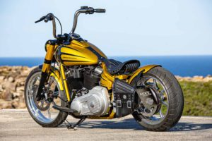 Harley Davidson Softail Slim Bobber 108