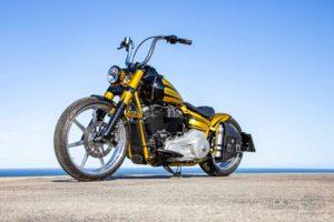 Harley Davidson Softail Slim Bobber 126