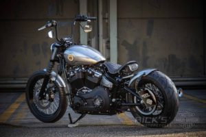 Harley Davidson Milwaukee Eight Street Bob Bobber Ricks 049