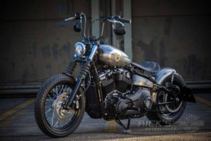 Harley Davidson Milwaukee Eight Street Bob Bobber Ricks 080