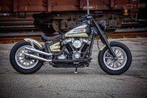 Harley Davidson Slim Bobber WW 001