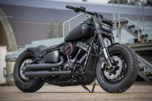 Harley Davidson Fat Bob Bob Custom Ricks 005