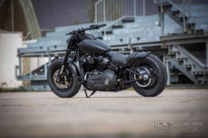 Harley Davidson Fat Bob Bob Custom Ricks 010